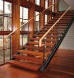 Cầu thang gỗ căm xe