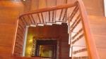 Giá cầu thang gỗ